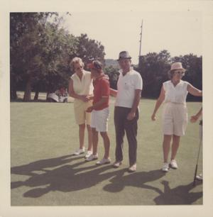 Primary view of object titled '[Austin Women's Public Links Golf Association tournament at the Municipal Golf Course]'.