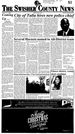 The Swisher County News (Tulia, Tex.), Vol. 5, No. 51, Ed. 1 Thursday, December 26, 2013