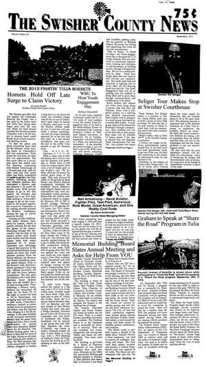 The Swisher County News (Tulia, Tex.), Vol. 4, No. 36, Ed. 1 Thursday, September 6, 2012