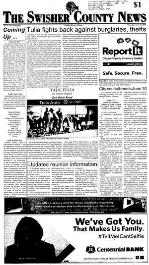 The Swisher County News (Tulia, Tex.), Vol. 6, No. 26, Ed. 1 Thursday, June 26, 2014