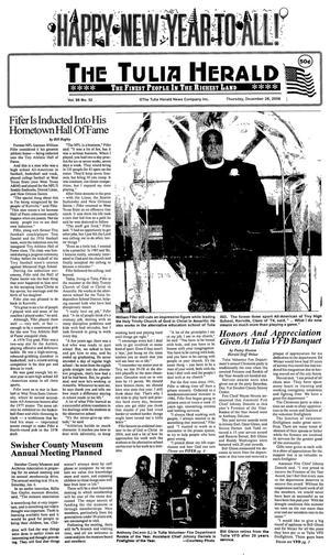 The Tulia Herald (Tulia, Tex.), Vol. 98, No. 52, Ed. 1 Thursday, December 28, 2006