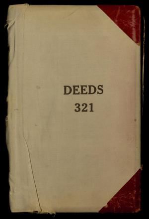 Travis County Deed Records: Deed Record 321