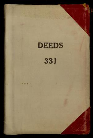 Travis County Deed Records: Deed Record 331