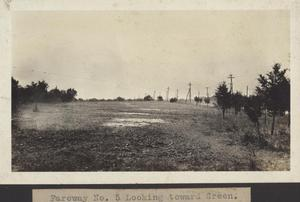 Primary view of object titled '[Municipal Golf Course fairway number five]'.