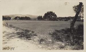 Primary view of object titled '[Municipal Golf Course fairway number nine]'.