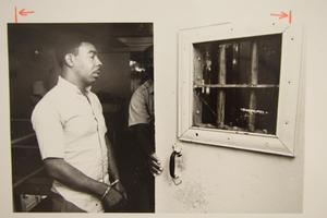 Primary view of object titled '[Inmate at Travis County Jail]'.