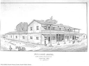 Primary view of object titled 'Bullock's Hotel'.