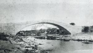 Primary view of object titled 'Barton Creek Bridge'.