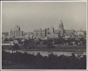 Primary view of object titled 'View of Downtown Austin and Capitol'.