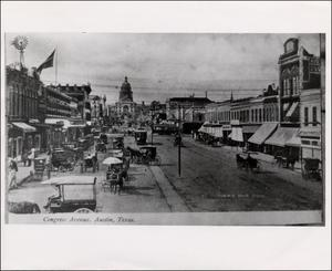 Primary view of object titled 'Busy Congress Avenue'.