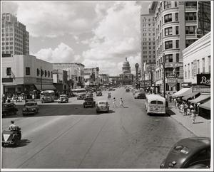 Primary view of object titled 'Congress Avenue from 5th Street'.