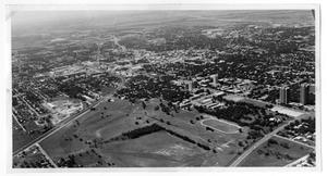 Primary view of object titled 'Aerial View of Denton'.