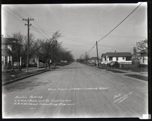 Primary view of object titled 'East First Street'.