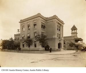 Primary view of object titled 'Austin City Hall'.