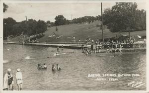Barton Springs Pool The Portal To Texas History