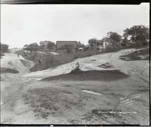 Primary view of object titled '[East Avenue unpaved]'.
