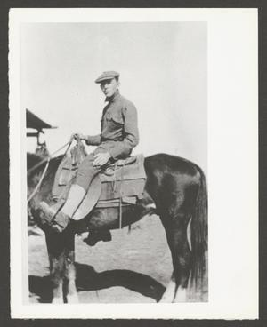 [Cavalry Soldier on Horseback]