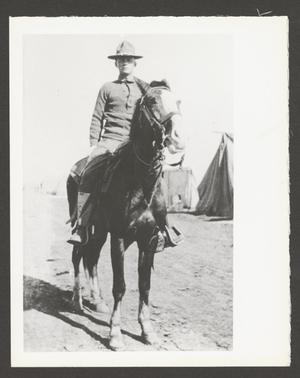 [Cavalry Soldier on Horse]