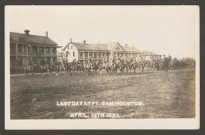 [Cavalry Soldiers at Fort Sam Houston]