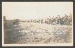 [Cavalry Men on Horseback]