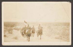 [Cavalry Soldiers in Desert]