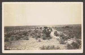 [Soldiers in Covered Wagons]