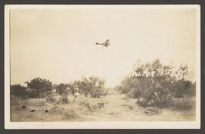 [Airplane Above Field]