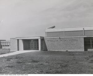 Primary view of object titled '[McCallum High School]'.