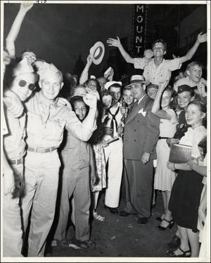 Primary view of object titled '[V-J Day Celebration]'.