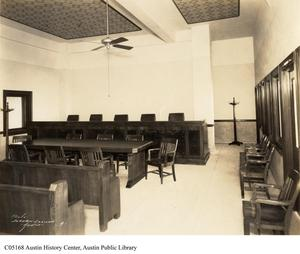 Primary view of object titled '[Travis County Commisioner's Court]'.