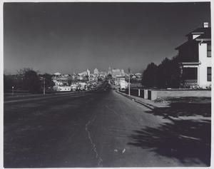 Primary view of object titled '[South Congress Avenue looking north]'.