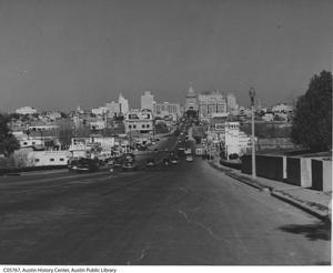 [South Congress Avenue looking north]