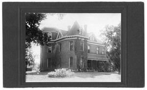 Primary view of object titled 'Exterior View of W. C. Wright's Home'.