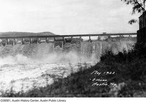 Primary view of object titled 'Austin Dam Flood Scene'.