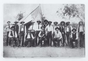 "Primary view of object titled '[Texas Rangers - Company ""E"" Frontier Battalion]'."
