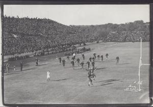 Primary view of object titled '[Dedication of Memorial Stadium]'.