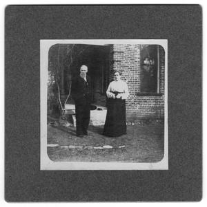 Primary view of object titled 'Mr. and Mrs. W. C. Wright'.