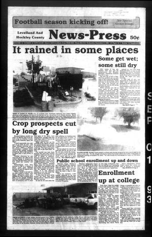 Levelland and Hockley County News-Press (Levelland, Tex.), Vol. 15, No. 44, Ed. 1 Wednesday, September 1, 1993