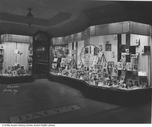 Primary view of object titled '[Dacy Shoe Store Display]'.