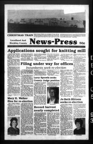 Levelland and Hockley County News-Press (Levelland, Tex.), Vol. 15, No. 71, Ed. 1 Sunday, December 5, 1993