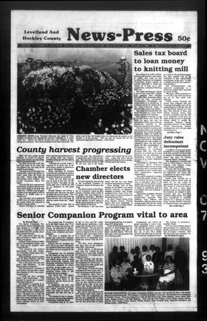 Levelland and Hockley County News-Press (Levelland, Tex.), Vol. 15, No. 63, Ed. 1 Sunday, November 7, 1993