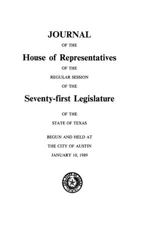 Journal of the House of Representatives of the Regular Session of the Seventy-First Legislature of the State of Texas, Volume 4