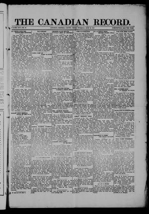 The Canadian Record (Canadian, Tex.), Vol. 26, No. 38, Ed. 1  Thursday, June 26, 1919
