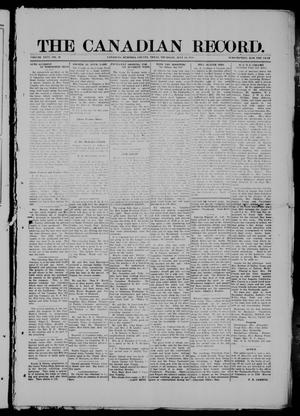 Primary view of object titled 'The Canadian Record (Canadian, Tex.), Vol. 26, No. 40, Ed. 1  Thursday, July 10, 1919'.