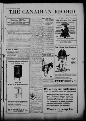 The Canadian Record (Canadian, Tex.), Vol. 26, No. 50, Ed. 2  Thursday, September 18, 1919