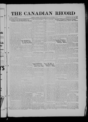 The Canadian Record (Canadian, Tex.), Vol. 27, No. 11, Ed. 1  Thursday, December 18, 1919