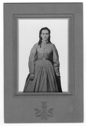 Primary view of object titled 'Julia Ann Gober Wright, Age 18'.