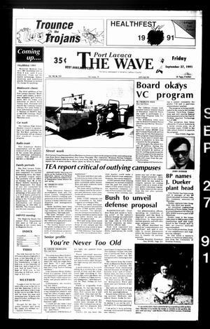 The Wave (Port Lavaca, Tex.), Vol. 100, No. 259, Ed. 1 Friday, September 27, 1991