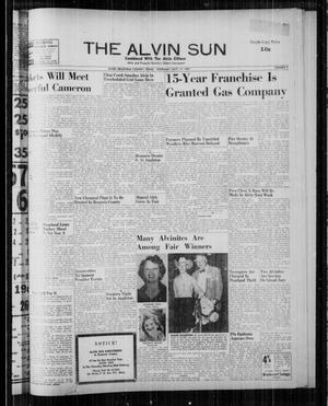 The Alvin Sun (Alvin, Tex.), Vol. 68, No. 9, Ed. 1 Thursday, October 17, 1957