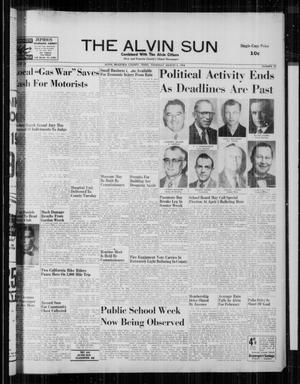 The Alvin Sun (Alvin, Tex.), Vol. 68, No. 29, Ed. 1 Thursday, March 6, 1958